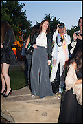 SUSAN YOUNG, 2014 Serpentine's summer party sponsored by Brioni.with a pavilion designed this year by Chilean architect Smiljan Radic  Kensington Gdns. London. 1July 2014