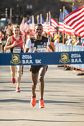 BAA 5K road race True USA Saucony Gebremeskel Ethiopia adidas homestretch