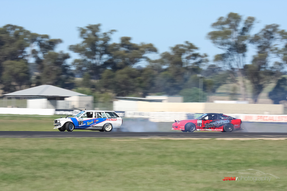 Round 1 of the GKTech.com.au Drifting Championship, held by Vic Drift at Winton, Victoria