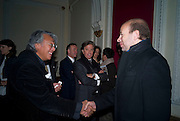 DAVID TANG; RICHARD CARING; ERIC FELNER, David Tang and Nick Broomfield host  a reception and screening of Ghosts. On the Fifth anniversary of the Morecambe Bay Tragedy to  benefit the Morecambe Bay Children's Fund. The Electric Cinema. Portobello Rd. London W11. 5 February 2009 *** Local Caption *** -DO NOT ARCHIVE -Copyright Photograph by Dafydd Jones. 248 Clapham Rd. London SW9 0PZ. Tel 0207 820 0771. www.dafjones.com<br /> DAVID TANG; RICHARD CARING; ERIC FELNER, David Tang and Nick Broomfield host  a reception and screening of Ghosts. On the Fifth anniversary of the Morecambe Bay Tragedy to  benefit the Morecambe Bay Children's Fund. The Electric Cinema. Portobello Rd. London W11. 5 February 2009