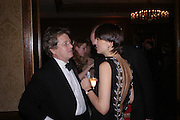 John Pawson and Melanie Walters. Conde Nast Traveller Tsunami Appeal dinner. Four Seasons  Hotel. Hamilton Place, London W1. 2 March 2005. ONE TIME USE ONLY - DO NOT ARCHIVE  © Copyright Photograph by Dafydd Jones 66 Stockwell Park Rd. London SW9 0DA Tel 020 7733 0108 www.dafjones.com