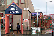 Social security and welfare office, Jobs and Benefits, Falls Road, Belfast