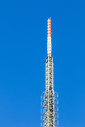 television broadcast antenna phased array on tower at Mt Coot-tha, Brisbane, Queensland, Australia <br /> <br /> Editions:- Open Edition Print / Stock Image