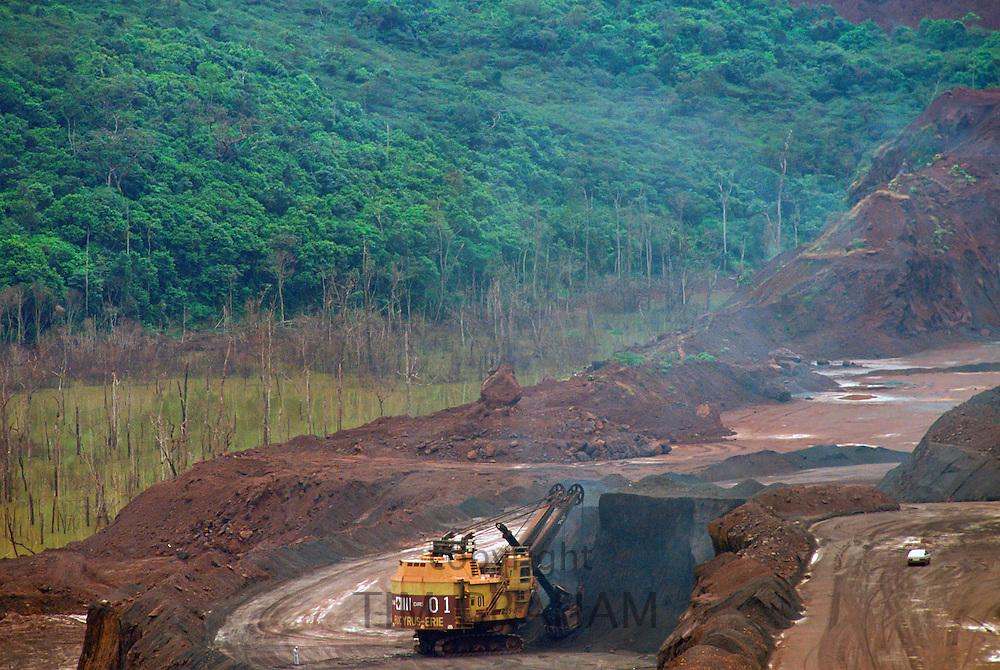 Carajas Open Cast Mine, Brazil.