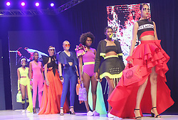 South Africa - Durban - 15 September 2020 - Models in rehearsal wearing the creations of Lordes by Leona Pillay gearing up for the virtual Durban Fashion showcase taking place from September 23 - 25 streaming on www.durbanfashiononfair.com from 7pm each night<br /> Picture: Doctor Ngcobo/African News Agency(ANA)