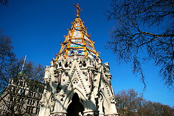 UK ENGLAND LONDON 15MAR07 - Detail of the Buxton Memorial Fountain commemorating the end of slavery located in the Victoria Tower Gardens nehind the House of Lords in central London. ..jre/Photo by Jiri Rezac..© Jiri Rezac 2007..Contact: +44 (0) 7050 110 417.Mobile:  +44 (0) 7801 337 683.Office:  +44 (0) 20 8968 9635..Email:   jiri@jirirezac.com.Web:    www.jirirezac.com..© All images Jiri Rezac 2007 - All rights reserved.
