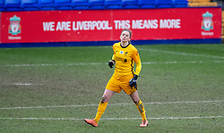 BIRKENHEAD, ENGLAND - Sunday, March 14, 2021: Liverpool's goalkeeper Rachel Laws during the FA Women's Championship game between Liverpool FC Women and Coventry United Ladies FC at Prenton Park. Liverpool won 5-0. (Pic by David Rawcliffe/Propaganda)