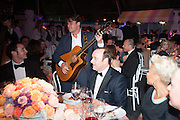 KEVIN SPACEY; EMILIE SANDE; JASON KING; GYPSY QUEENS, Grey Goose Winter Ball to benefit the Elton John Aids Foundation. Battersea Power Station. London. 10 November 2012.