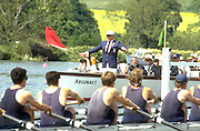 © Peter Spurrier Sports Photo<br />email pictures@rowingpics.com<br />tel +44 7973 819551<br />Photo Peter Spurrier<br />Start of a race Henley Royal Regatta Mike Sweeney umpire