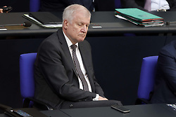 Germany, Berlin - July 4, 2018.German Bundestag.Horst Seehofer, CSU (Credit Image: © Darmer/Davids/Ropi via ZUMA Press)