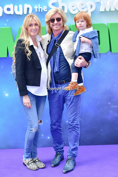 Nicky Clarke attend the Shaun the Sheep Movie: Farmageddon, at ODEON LUXE on 22 September 2019,  London, UK.