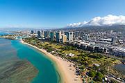 Ala Moana, Honolulu, Oahu, Hawaii