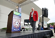 26 August 2007: Hall of Famer Harry Keough. The National Soccer Hall of Fame Induction Ceremony was held at the National Soccer Hall of Fame in Oneonta, New York.