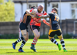 Llanelli Knights v Torfaen Tigers<br /> <br /> Photographer Craig Thomas/Replay Images<br /> <br /> Welsh Premier League - Llanelli Knights v Torfaen Tigers  - Saturday 19th May 2018 - Stebonheath Park - Llanelli<br /> <br /> World Copyright © 2017 Replay Images. All rights reserved. info@replayimages.co.uk - www.replayimages.co.uk