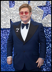 May 20, 2019 - London, London, United Kingdom - Image licensed to i-Images Picture Agency. 20/05/2019. London, United Kingdom. Sir Elton John arriving at the Rocketman premiere in London. (Credit Image: © Stephen Lock/i-Images via ZUMA Press)