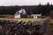 Unidentified contemporary cottage design in Pennyghael, Isle of Mull, Scotland. http://www.pennyghael.org.uk/Community/Storage/index.htm