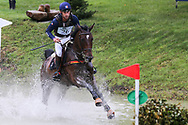 Arpege Du Mancel ridden by Astier Nicolas in the Equi-Trek CCI-L4* Cross Country during the Bramham International Horse Trials 2019 at Bramham Park, Bramham, United Kingdom on 8 June 2019.