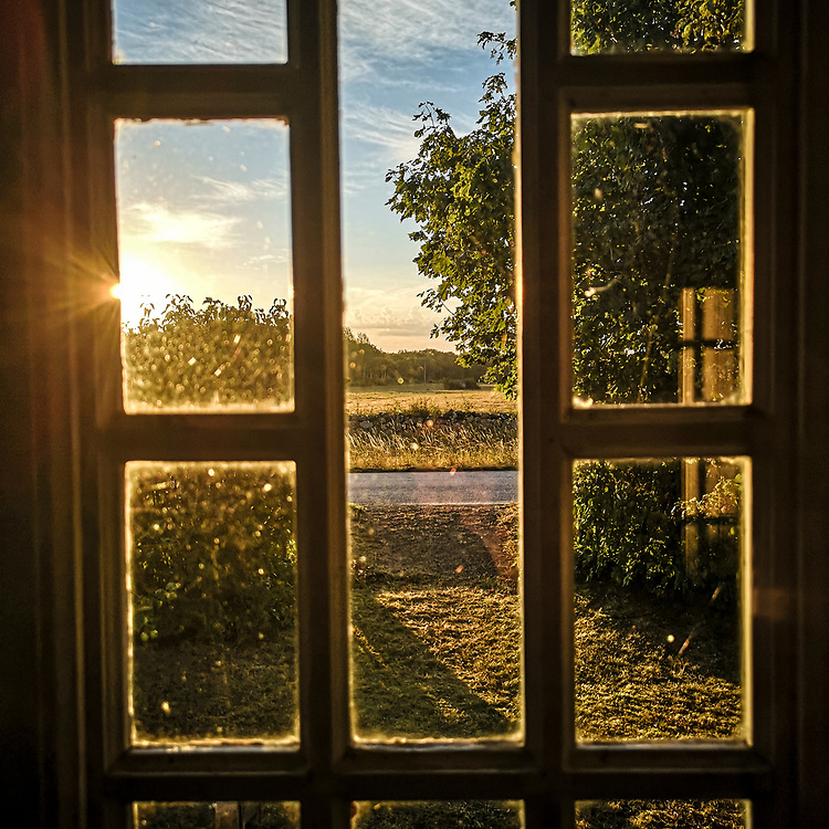 Morgonsol i Fide.<br /> PHOTO © Bernt Lindgren