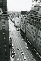 1976 Looking south on Vine St. from Hollywood Blvd.