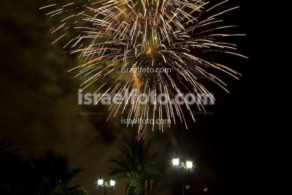 Fireworks fot the September 16 th Celebration, Tultepec, Estado de México, Mexico