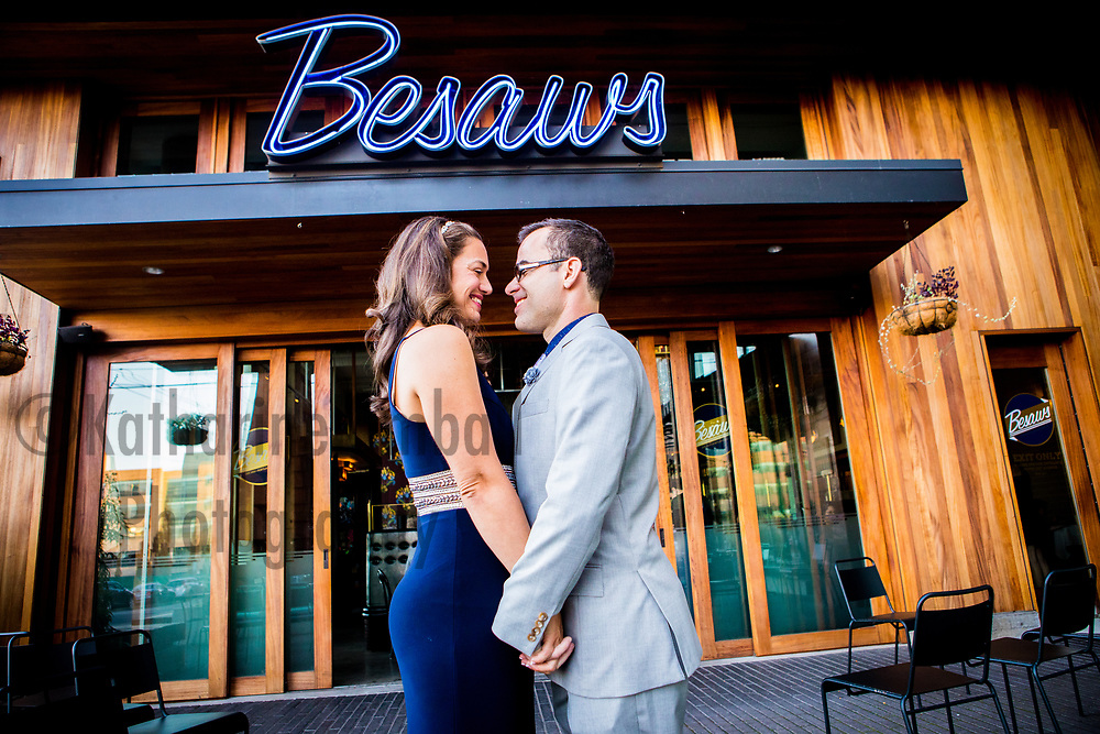 Anne and Nick's Wedding at Besaw's Portland Oregon.