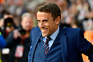 England women's manager Phil Neville before the FIFA Women's World Cup UEFA Qualifier match between England Ladies and Wales Women at the St Mary's Stadium, Southampton, England on 6 April 2018. Picture by Graham Hunt.
