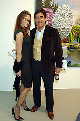 Model STEPHANIE SEYMOUR and her husband PETER BRANT at the opening of Frieze Art Fair 2007 held in regent's Park, London on 10th October 2007.<br />