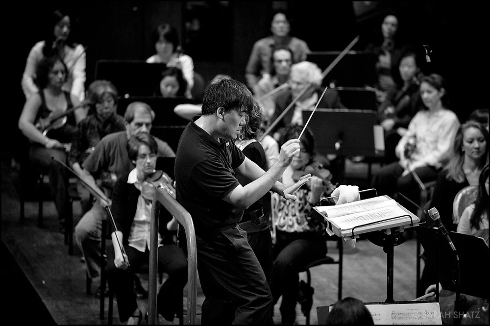 Dress rehearsal for the Live from Lincoln Center, New York Philharmonic Opening Night Concert with Maestro Alan Gilbert and Renée Fleming