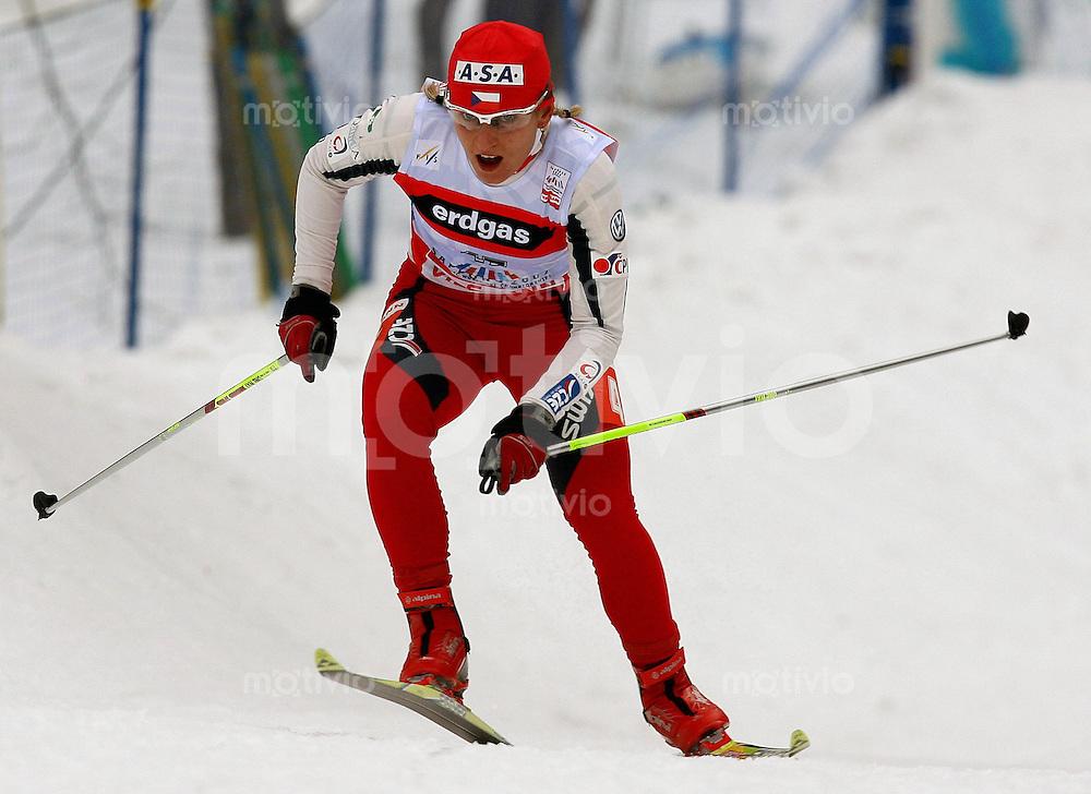 Sapporo , 270207 , Nordische Ski Weltmeisterschaft  Frauen 10km Freistil ,  Ivana JANECKOVA (CZE)