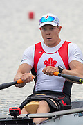 Poznan, POLAND, 21st June 2019, Friday, Morning Heats, FISA World Rowing Cup II, Malta Lake Course, © Peter SPURRIER/Intersport Images,<br /> <br /> 09:19:53