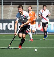 AMSTELVEEN  - Hockey -  1e wedstrijd halve finale Play Offs dames.  Amsterdam-Bloemendaal (5-5), Bl'daal wint na shoot outs. Nicki Leijs (A'dam)    COPYRIGHT KOEN SUYK