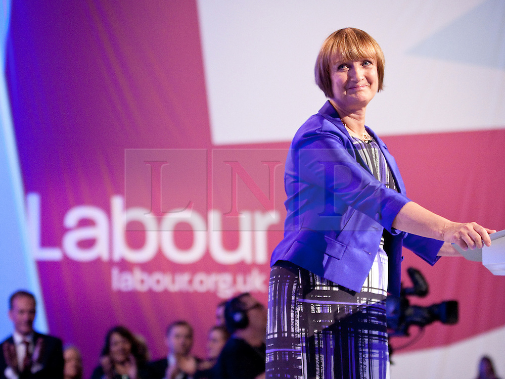 © Licensed to London News Pictures. 02/10/2012. Manchester, UK . Tessa Jowell at the Labour Party Conference Day 3 at Manchester Central . Photo credit : Joel Goodman/LNP