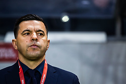 March 23, 2019 - Stockholm, SWEDEN - 190323  Cosmin Contra, Head Coach of Romania ahead of the UEFA Euro Qualifier football match between Sweden and Romania on March 23, 2019 in Stockholm. (Credit Image: © Mathilda Ahlberg/Bildbyran via ZUMA Press)
