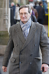 © Licensed to London News Pictures. 28/01/2019. London, UK. Conservative MP Dominic Grieve walks near Parliament ahead of crucial votes on Brexit amendments. Photo credit: Peter Macdiarmid/LNP
