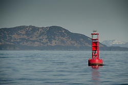 Bell Buoy off Kodiak Island, Alaska, US