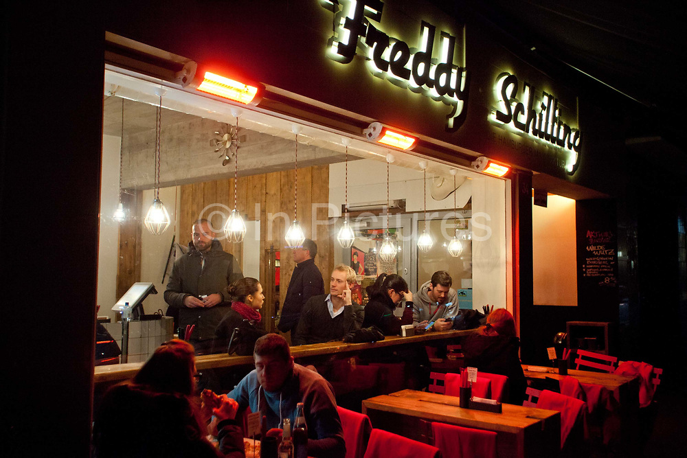 Freddy Schillings, gourmet burger kitchen, Cologne.