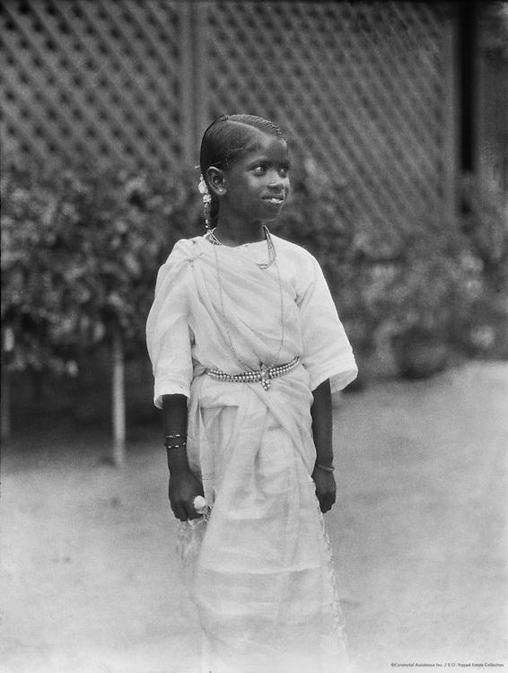 Child, Guntakal, India, 1929