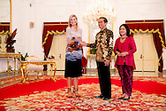 2016/01/09 JAKARTA - Koningin Maxima ontmoet president indonesië Joko Widodo Koningin Maxima bezoeken op Donderdag, 1 september tot 1 donderdag, september, de Republiek Indonesië in haar rol van speciale pleitbezorger van de secretaris-generaal van de Verenigde Naties voor Inclusive Finance for Development. COPYRIGHT ROBIN UTRECHT NETHERLANDS ONLY <br /> 1-9-2016 JAKARTA  - Queen Maxima  meets president indonesia  Joko Widodo Queen Maxima visit on thurday , 1 september to Thursday, September 1st, the Republic of Indonesia in its role of special advocate of the Secretary-General of the United Nations for Inclusive Finance for Development. COPYRIGHT ROBIN UTRECHT NETHERLANDS ONLY