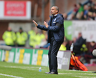 Brighton Manager, Chris Hughton during the Sky Bet Championship match between Burnley and Brighton and Hove Albion at Turf Moor, Burnley, England on 22 November 2015.