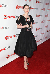 LAS VEGAS, NV - APRIL 26: Male Star of Yearr Award Winner Benicio Del Toro at the CinemaCon 2018 Big Screen Achievement Awards at The Colosseum at Caesars Palace in Las Vegas, Nevada on April 26, 2018. 26 Apr 2018 Pictured: Felicity Jones. Photo credit: DAM/MPI/Capital Pictures / MEGA TheMegaAgency.com +1 888 505 6342