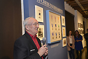 Rex Sinquefield, founder and benefactor of the  Chess Club, speaks at the World Chess Hall of Fame in St. Louis where a new chess history exhibition, US Chess: 80 Years—Promoting the Royal Game in America, opened there with a free opening reception event on March 6, 2019. The chess exhibit will be on display through October 27, 2019. <br /> (Tim Vizer/AP Images for  World Chess Hall of Fame)