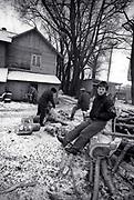 Billy Bragg in Estonia - USSR - 1988