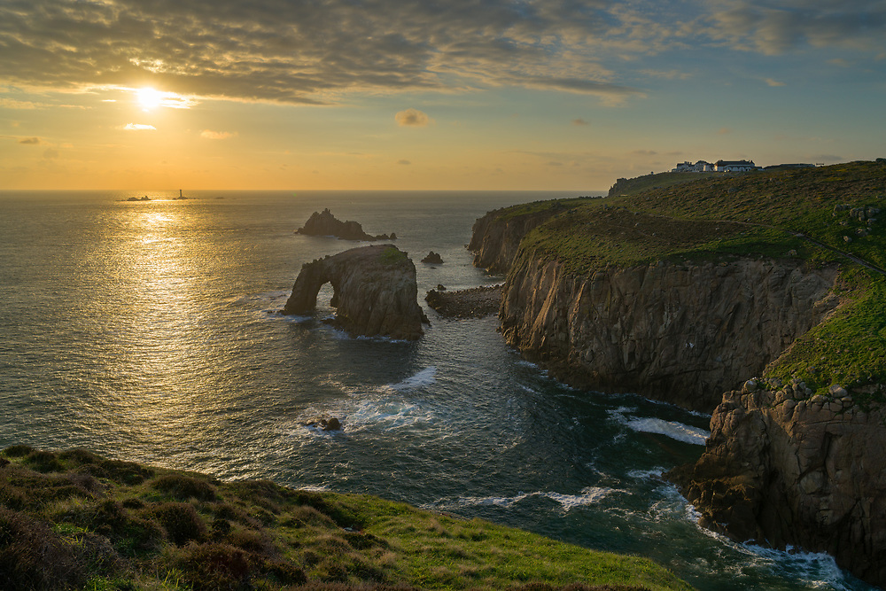 Sunset at Land's End.