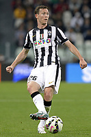 Stephan Lichtsteiner Juventus,<br /> Torino 29-04-2015, Juventus Stadium, Football Calcio 2014/2015 Serie A, Juventus - Fiorentina, Foto Filippo Alfero/Insidefoto
