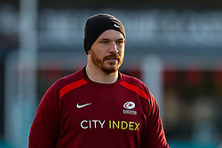 Tim Swinson of Saracens  - Mandatory by-line: Nick Browning/JMP - 26/02/2021 - RUGBY - Butts Park Arena - Coventry, England - Coventry Rugby v Saracens - Friendly