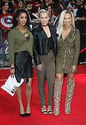 April 26, 2016 -Stooshe attending 'Captain America: Civil War' European Film Premiere at Vue Westfield in London, UK.<br /> ©Exclusivepix Media