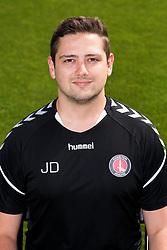 Jonny Dixon, Academy Performance Analyst, Charlton Athletic.