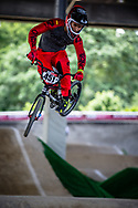 #451 (KIM PENA Alejandro) ESP at Round 5 of the 2019 UCI BMX Supercross World Cup in Saint-Quentin-En-Yvelines, France