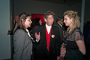 CAROLE SILLER; DUGGIE FIELDS; ASSIA ROSICA, Craigie Aitchison - private view<br /> Memorial retrospective, Timothy Taylor Gallery, 15 Carlos Place, London 28 March 2012.