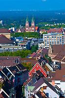 Overviews of Freiburg, Baden-Württemberg, Germany
